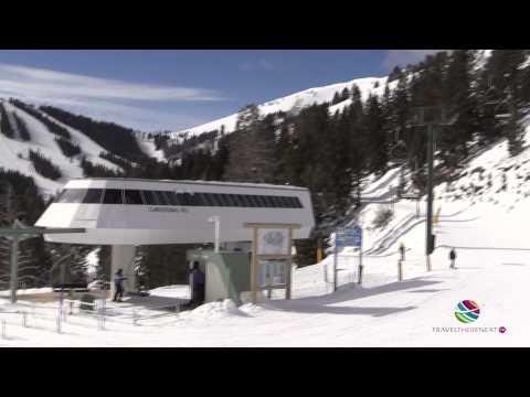 Bald Mountain Chair Ride Bald Mountain Sun Valley Idaho USA