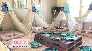 BEST SLEEPOVER IDEAS FOR A 4 YEAR OLD PRINCESS