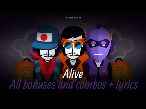 Incredibox v6 All bonuses and combos + lyrics