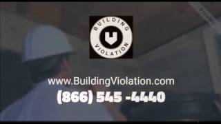 RESOLVE BUILDING VIOLATIONS