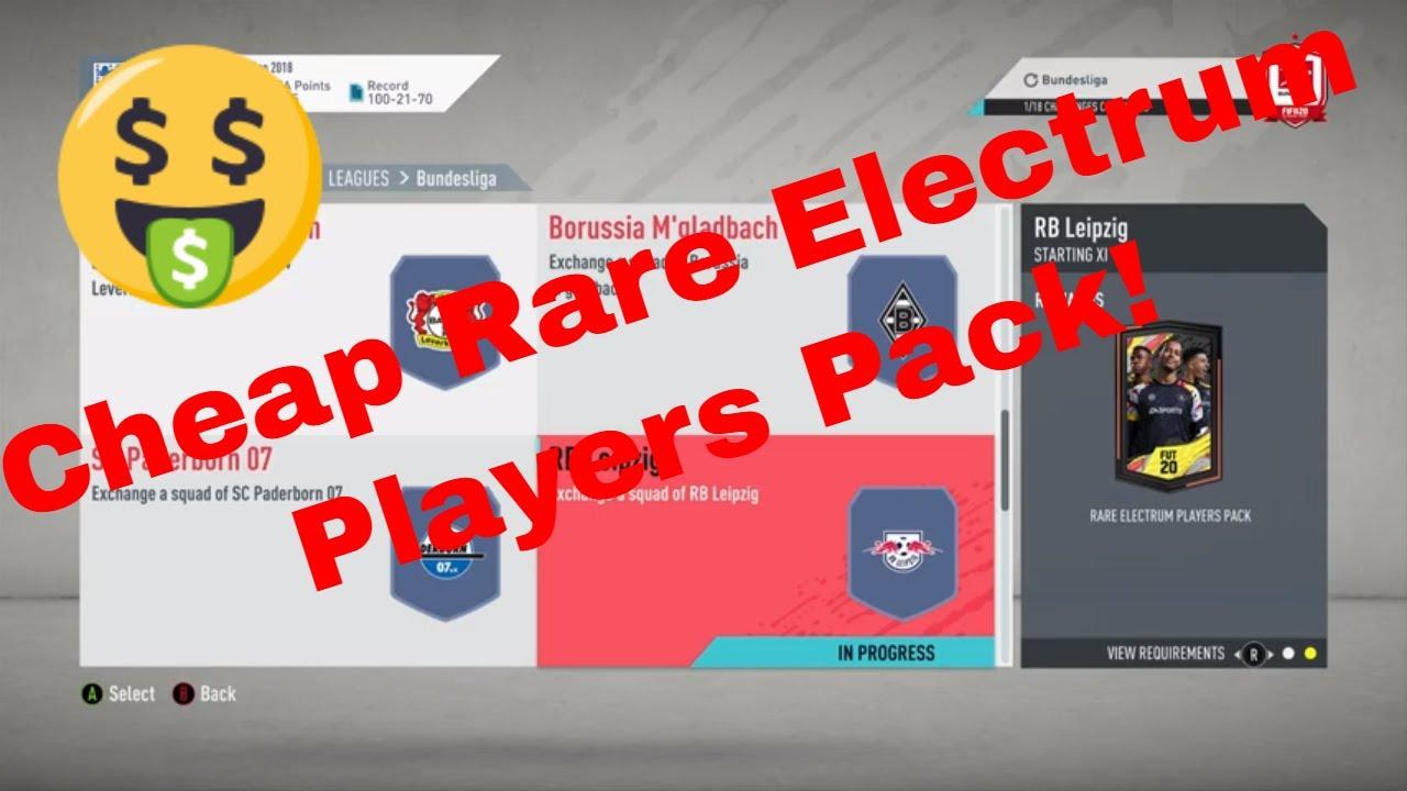 Fut 20 Sbc Bundesliga Rb Leipzig Cheap Rare Electrum Players Pack Youtube
