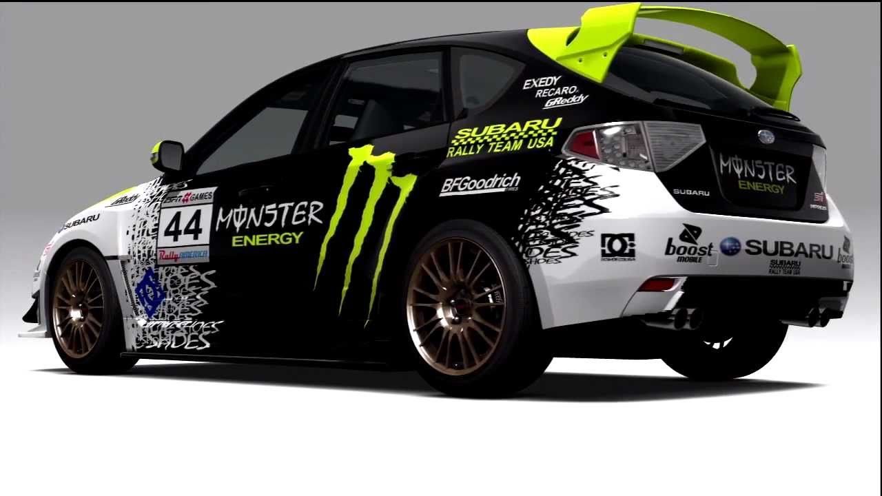 Rally Car Wallpapers Free Forza 3 2008 Subaru Impreza Wrx Sti Ken Block Youtube
