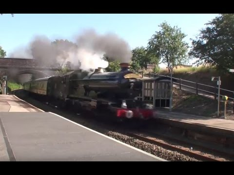5043 Storms The North Warwick Line On The Shakespeare Express-(07/08/2016):
