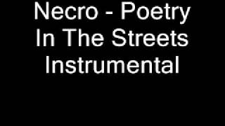 Necro - Poetry In The Streets Instrumental