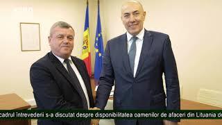 Exportul produselor din Moldova în Lituania ar putea fi reluat
