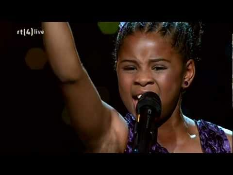 Aliyah Kolf - I have nothing - Finale Holland's Got Talent 1