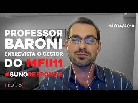 #SunoResponde sobre FIIs com o Professor Baroni e Alexandre Despontin (Gestor do MFII11