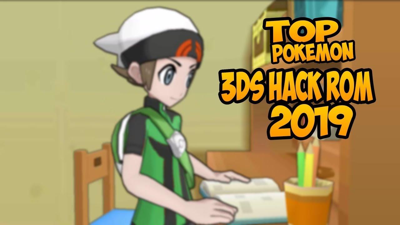 TOP JUEGOS POKEMON 3DS HACK ROM 2019