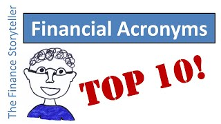 Financial Acronyms Top 10