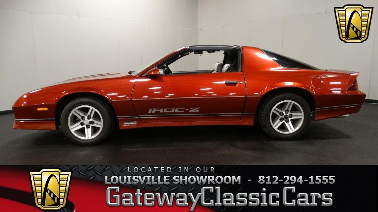 1987 Chevrolet Camaro Iroc Z28 Louisville Showroom