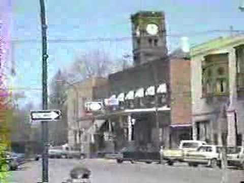 Fairfield Iowa From 1986. Town Square And More