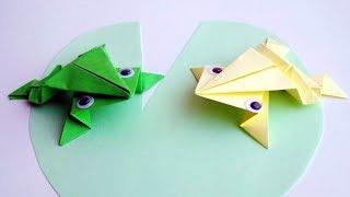 как сделать поделку из бумаги без ножниц