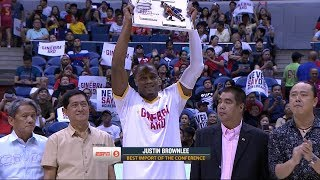 Brownlee wins BIC | PBA Commissioner's Cup 2018