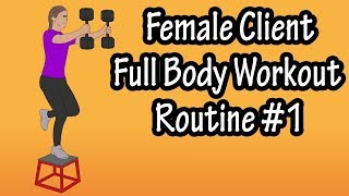 Female Client Workout Routine - Womens Workout Routines For The Gym Weight Loss And Toning