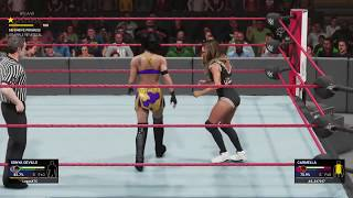 LoganXTC COUNTS OUT a defualt Carmella on Quick Play (WWE 2K19)
