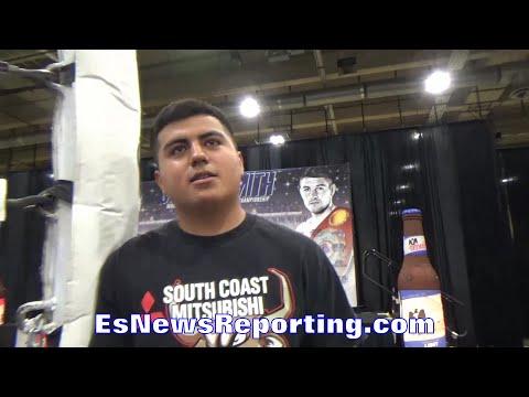 PITA GARCIA ROLLIN WITH GABE ROSADO; BELIEVES ROSADO HAS FOUGHT AT HIGHER LEVEL - EsNews Boxing
