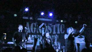 AGNOSTIC FRONT - Peace? - Crucified (live 2012)