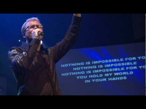 Pastor Danny Chambers and Joey Richey Singing Healer at the Oasis Vision Concert