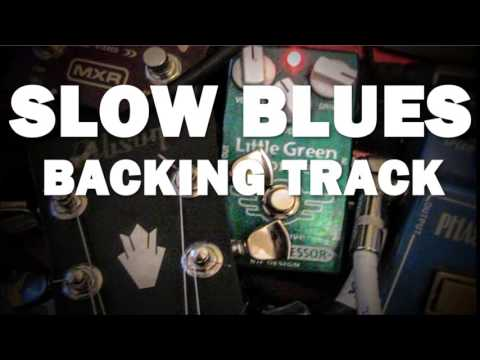 Slow Blues Backing Track in G major