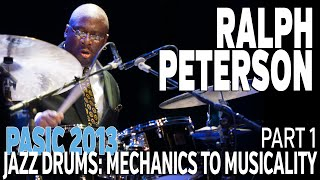 PASIC 2013 - Ralph Peterson Clinic - Part 1