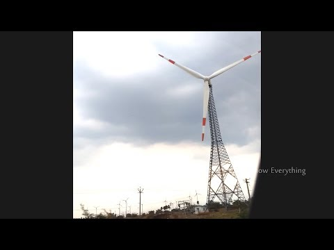 Wind Turbines | Wind Power Plan | Power Projects in Tamilnadu | Coimbatore