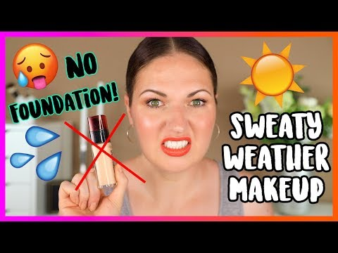 NO FOUNDATION Makeup Routine for Hot & Humid Summer Weather! thumbnail