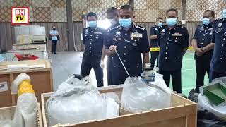 Rampasan dadah terbesar dalam sejarah Polis Johor