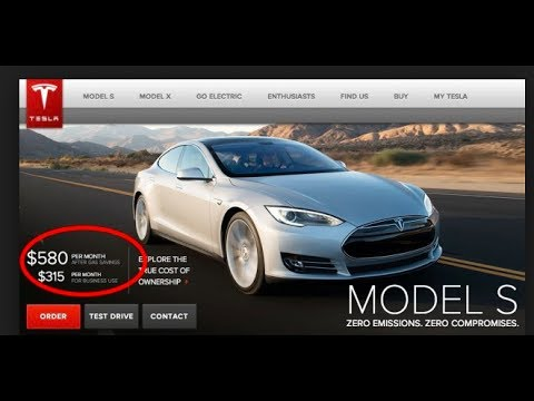 The problem with Tesla Lease program