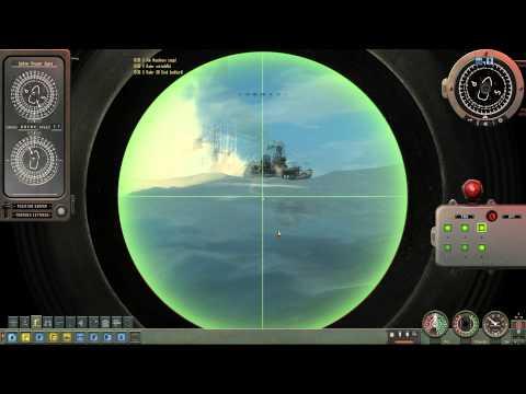 Alfa Class Submarine VS Cruisers 2/3