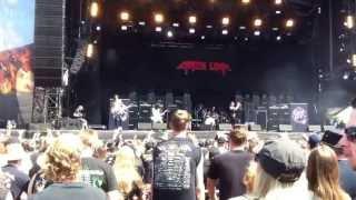 Crazy Lixx live @ Bang Your Head 2013