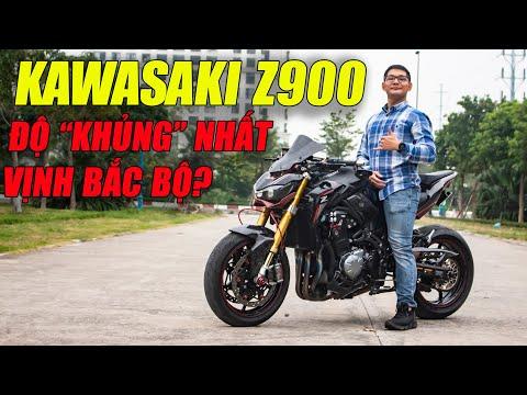 Khám phá chiếc Kawasaki Z900 độ Khủng hàng TOP Vịnh Bắc Bộ, tiền độ gần bằng mua xe mới