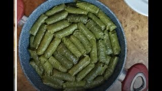 # Yarpaq dolması # фаршированных виноградных листьев