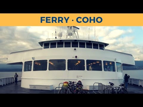 Passage ferry COHO, Port Angeles - Victoria (Black Ball Ferry Line)