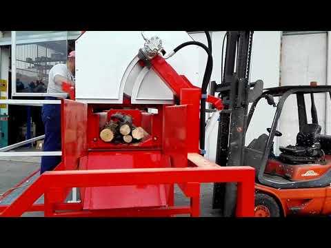 macchina a disco per taglio legna da ardere
