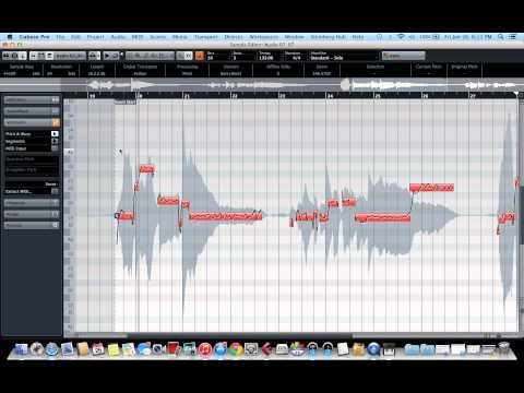 Cubase 8 Variaudio tutorial (Vocal and instruments Tuning)