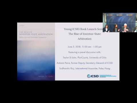 Young ICSID Book Launch Series: The Rise of Investor-State Arbitration