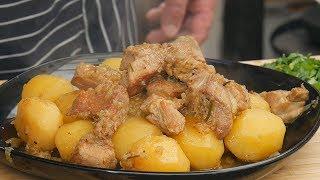Mięso, ziemniaki i cebula  ! OBIAD DOSKONAŁY  ! / Oddaszfartucha