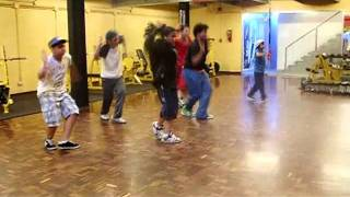 dance look at me now chris brown ft lil wayne busta rhymes combo