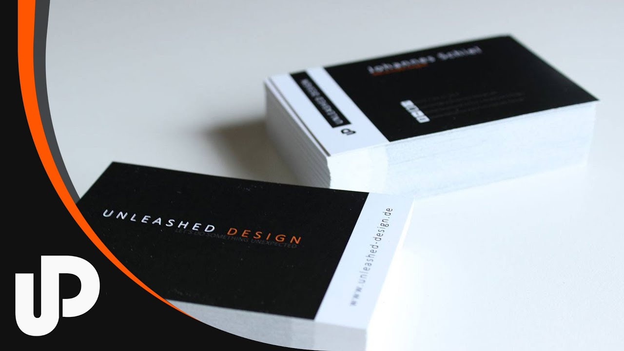 Visitenkarten Business Cards Tutorial
