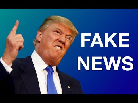 "Donald Trump Says ""Fake News"" - Compilation - YouTube"