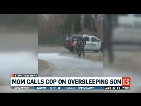 The Insider - Fed up Michigan mom calls police on son for oversleeping