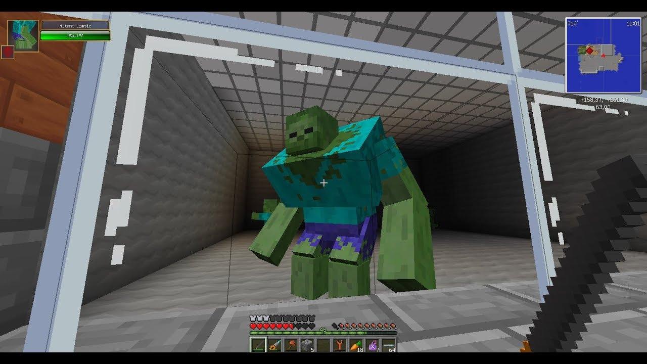 Майнкрафт как сделать статую зомби фото 329