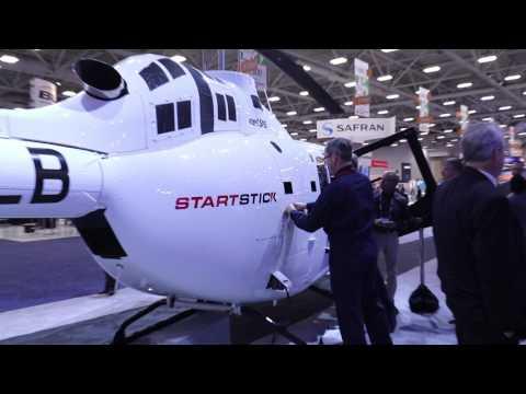 Концепция салона премиум-класса от Mecaer Aviation Group для вертолета Bell 505   HELIATICA