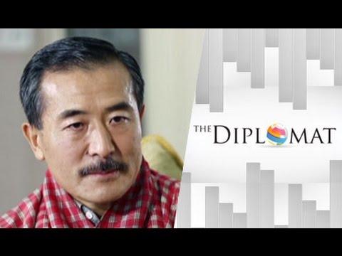 "The Diplomat 21/11/57 : Ambassador of Bhutan to Thailand ""H.E.Kesang Wangdi"""