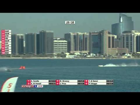 F1 H2O 2011  GP OF ABU DHABI  RACE