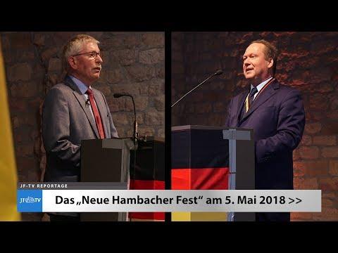 Das Neue Hambacher Fest 2018 (JF-TV Reportage)