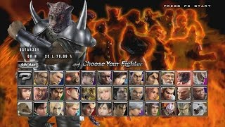 Tekken 5 : Dark Resurrection - Armor King II Playthrough (PS3)