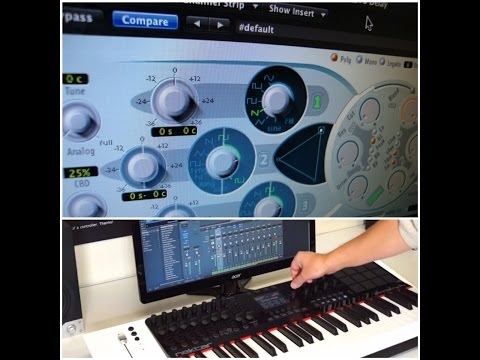 How To Make A Worship Pad In Logic/MainStage ES2 Synth