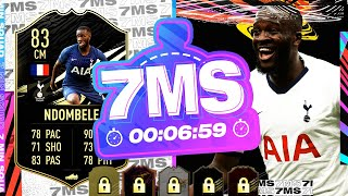 90 DRIBBLING! THE CHEAP IF R.SANCHES!! 83 IF NDOMBELE 7 MINUTE SQUAD BUILDER - FIFA 21 ULITMATE TEAM