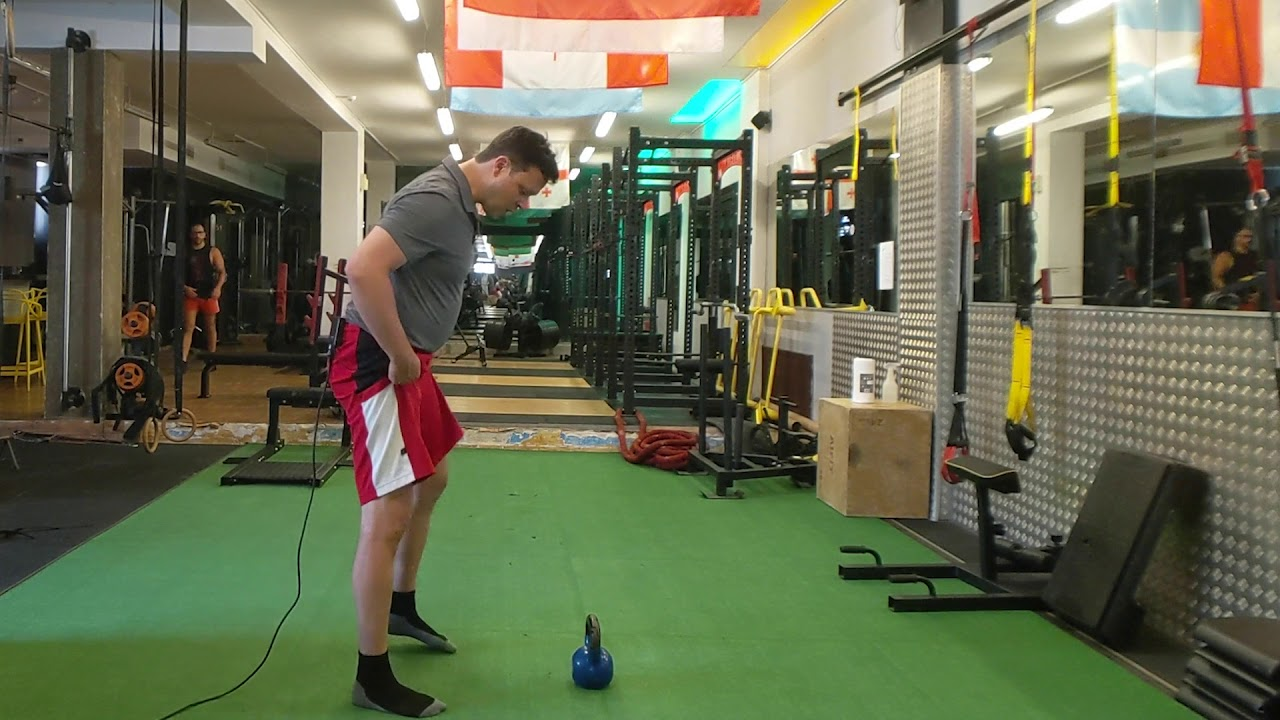 Strength Training: Short Stop Swings